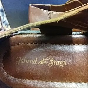 ISLAND STAGS Shoes - NWOT ISLAND STAGS MENS SANDALS